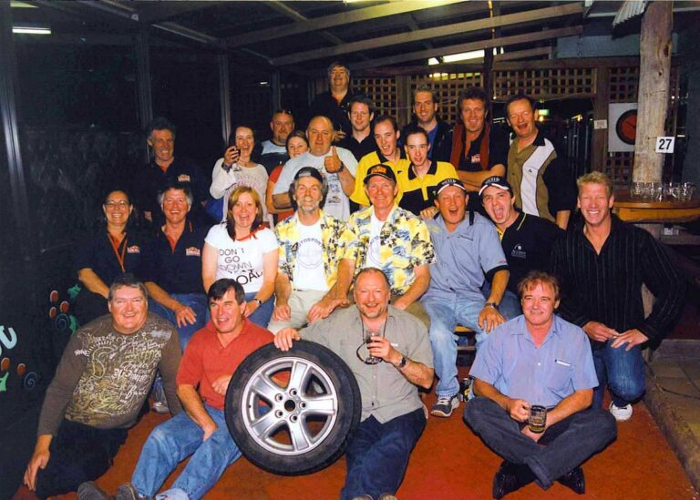 pic of a group at 2005 ALpine presentation