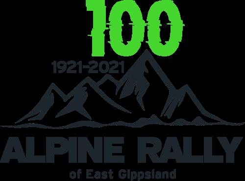 Alpine rally logo