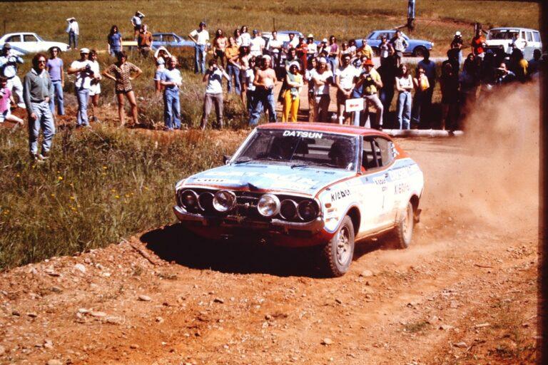 Greg Carr/Wayne Gregson, Datsun 710SSS, 1976 Alpine.