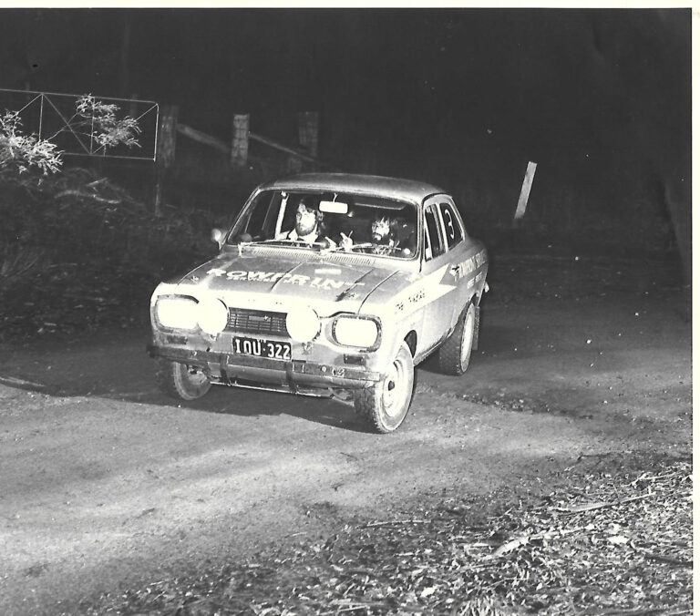 Andrew-Roberts and Lee Baker in the Rowprint Escort