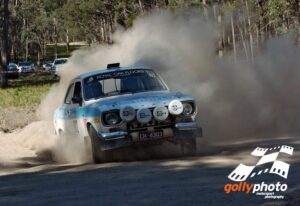 Ken Harper & Dave Gallacher in the 2009 Alpine