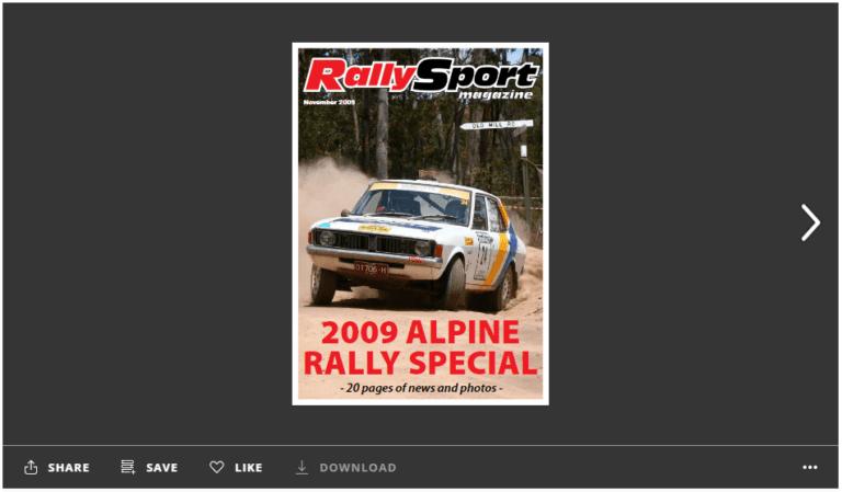 RSM alpine special - issue window