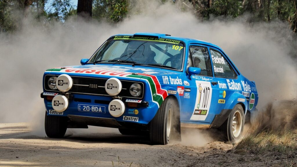 Keith Fackrell - Claire-Buccini Ford Escort RS1800