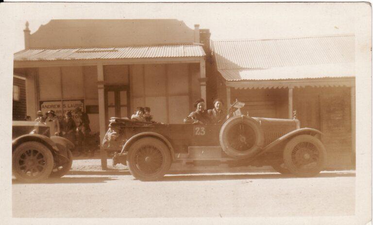 Alpine Rally 1923