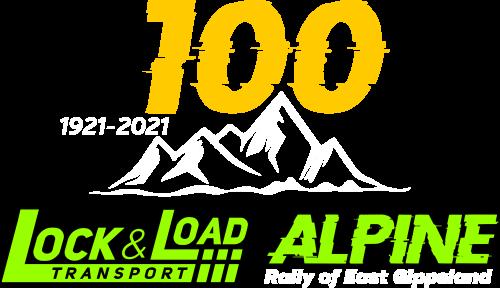 Lock & Load Alpine Rally logo