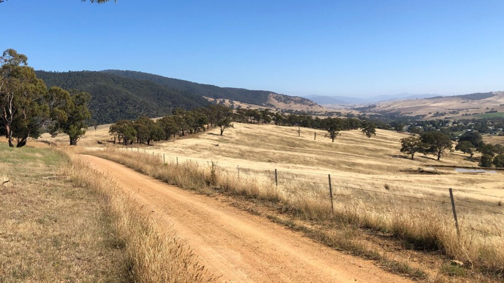High country panorama - looking up the Omeo valley